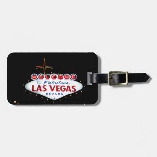 La muestra de Las Vegas - recepción a Las Vegas Etiquetas Maletas