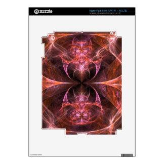 La muestra iPad 3 pegatina skin