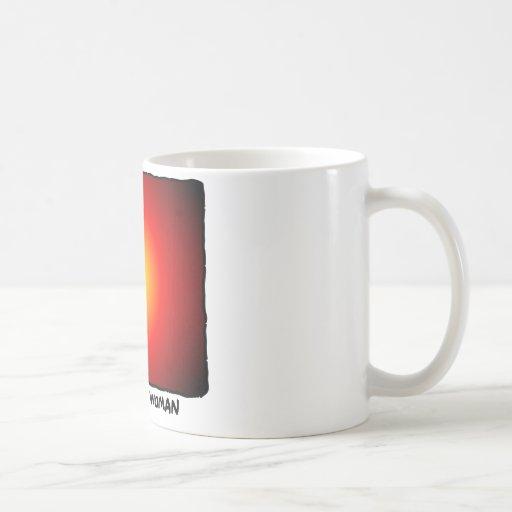La mujer animada - danza de poste taza de café