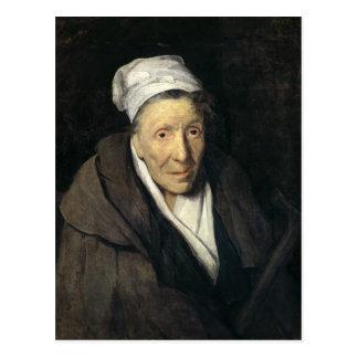 La mujer con la manía de juego, 1819-24 postal