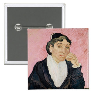 La mujer de Arles Pin Cuadrada 5 Cm