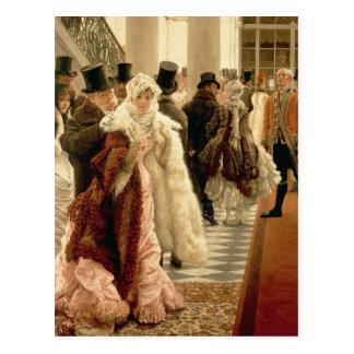 La mujer de la moda, 1883-5 tarjeta postal