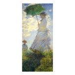 La mujer de Monet con un parasol (el paseo/el pase Tarjeta Publicitaria Personalizada