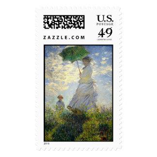 La mujer de Monet con un parasol (el paseo/el Franqueo