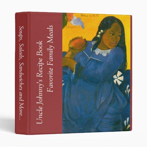 La mujer de Paul Gauguin con un mango (1892)