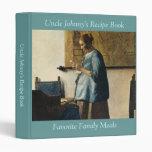 """La mujer de Vermeer en azul que lee una letra ca.1 Carpeta 1"""""""