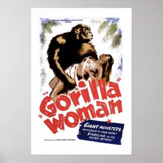 La mujer del gorila posters
