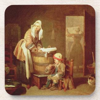 La mujer del lavadero posavasos de bebidas