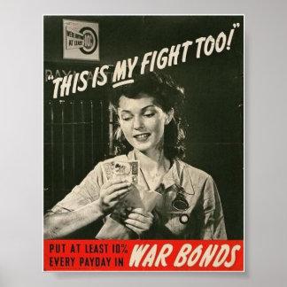 ¡La mujer del tiempo de guerra! Poster