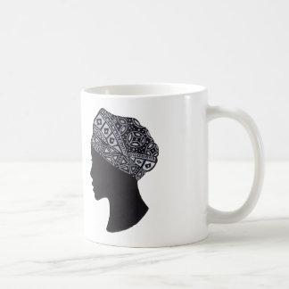 La mujer del turbante taza