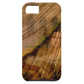 La mujer detrás de la cortina iPhone 5 fundas