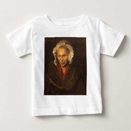La mujer enojada de Jean Louis Theodore Gericault Camiseta