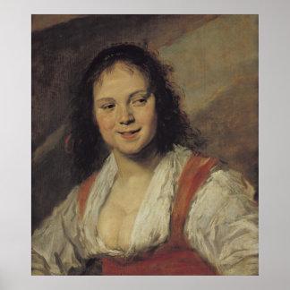 La mujer gitana c 1628-30 poster