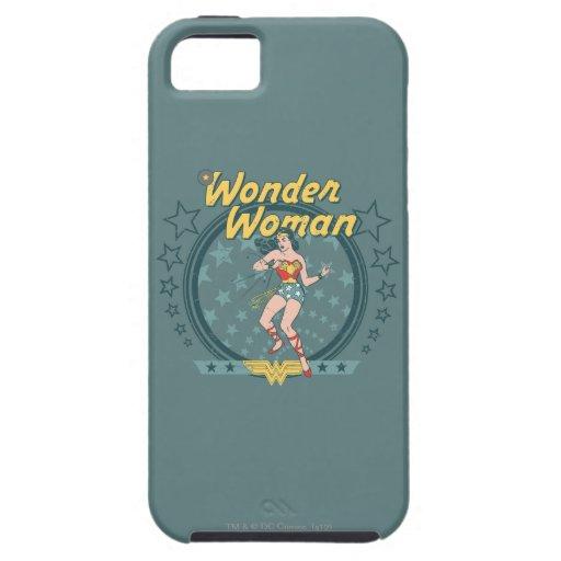La Mujer Maravilla apenó diseño de la estrella iPhone 5 Cárcasa