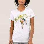 La Mujer Maravilla sostiene el lazo 2 Camisetas