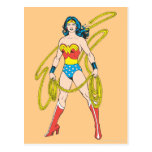 La Mujer Maravilla sostiene el lazo 5 Tarjetas Postales