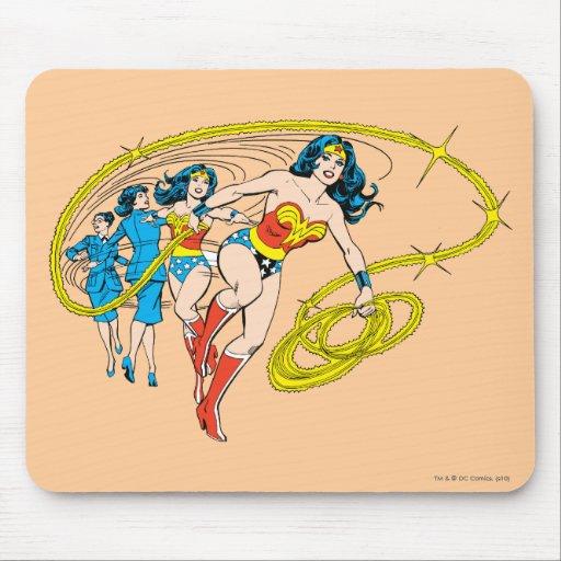 La Mujer Maravilla transforma Alfombrillas De Raton