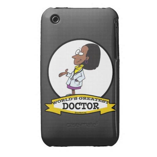LA MUJER MÁS GRANDE DEL DOCTOR AFROAMERICANO DE LO Case-Mate iPhone 3 COBERTURA
