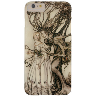 La mujer mayor en la madera de Arturo Rackham Funda De iPhone 6 Plus Barely There