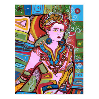 La mujer mexicana postal