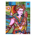 La mujer mexicana tarjeta postal