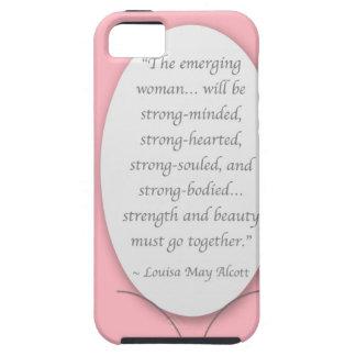 La mujer nosotros todos esfuerzo para ser iPhone 5 funda