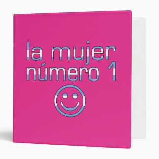 La Mujer Número 1 - Number 1 Wife in Argentine 3 Ring Binder