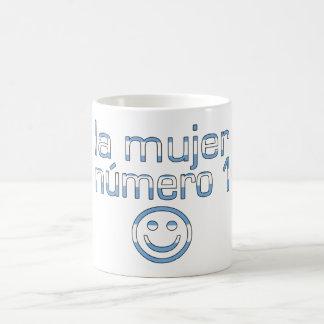 La Mujer Número 1 - Number 1 Wife in Argentine Classic White Coffee Mug