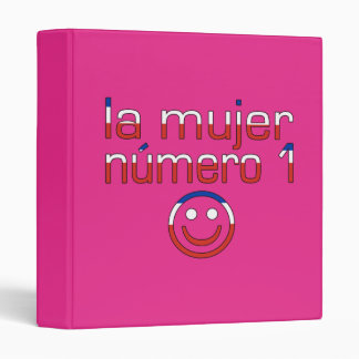 La Mujer Número 1 - Number 1 Wife in Chilean 3 Ring Binder