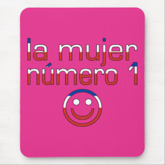 La Mujer Número 1 - Number 1 Wife in Chilean Mouse Pad