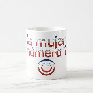 La Mujer Número 1 - Number 1 Wife in Chilean Classic White Coffee Mug