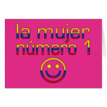 La Mujer Número 1 - Number 1 Wife in Colombian Greeting Cards