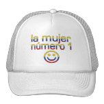 La Mujer Número 1 - Number 1 Wife in Colombian Trucker Hat