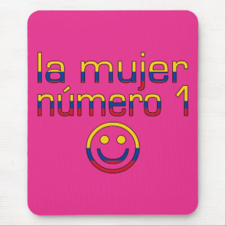 La Mujer Número 1 - Number 1 Wife in Colombian Mouse Pad