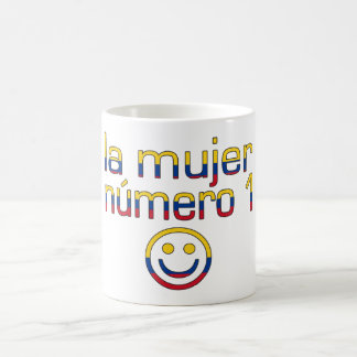 La Mujer Número 1 - Number 1 Wife in Colombian Classic White Coffee Mug