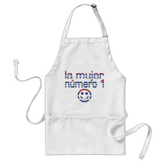 La Mujer Número 1 - Number 1 Wife in Cuban Adult Apron