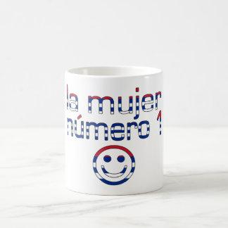 La Mujer Número 1 - Number 1 Wife in Cuban Classic White Coffee Mug