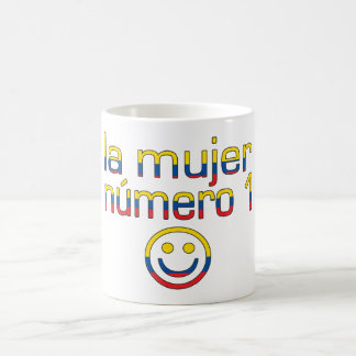La Mujer Número 1 - Number 1 Wife in Ecuadorian Classic White Coffee Mug