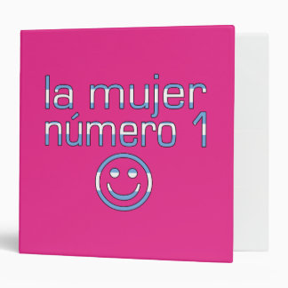 La Mujer Número 1 - Number 1 Wife in Guatemalan 3 Ring Binder