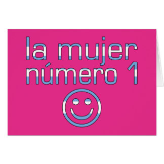 La Mujer Número 1 - Number 1 Wife in Guatemalan Card