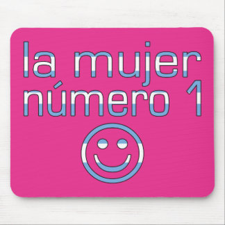 La Mujer Número 1 - Number 1 Wife in Guatemalan Mouse Pad
