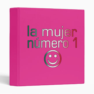 La Mujer Número 1 - Number 1 Wife in Mexican Binder