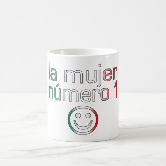 La Mujer Número 1 - Number 1 Wife in Mexican Classic White Coffee Mug
