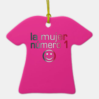 La Mujer Número 1 - Number 1 Wife in Mexican Ornament