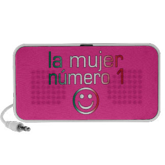 La Mujer Número 1 - Number 1 Wife in Mexican Notebook Speakers