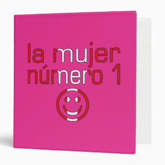 La Mujer Número 1 - Number 1 Wife in Peruvian 3 Ring Binder