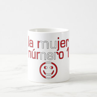 La Mujer Número 1 - Number 1 Wife in Peruvian Classic White Coffee Mug
