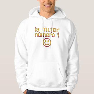 La Mujer Número 1 - Number 1 Wife in Spanish Hoodie