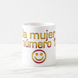La Mujer Número 1 - Number 1 Wife in Spanish Classic White Coffee Mug