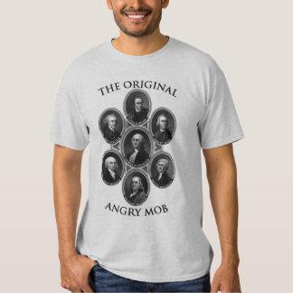 La multitud enojada original camisas